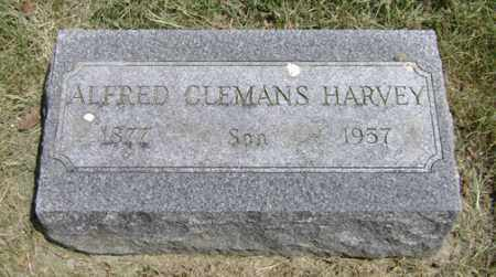 HARVEY, ALFRED CLEMANS - Clark County, Ohio | ALFRED CLEMANS HARVEY - Ohio Gravestone Photos