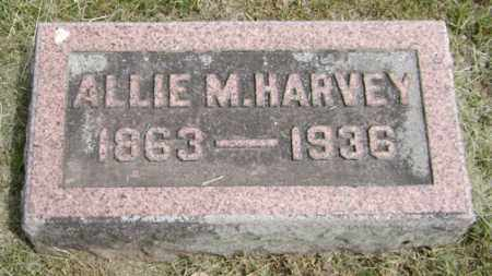 DENTON HARVEY, ALLIE M. - Clark County, Ohio | ALLIE M. DENTON HARVEY - Ohio Gravestone Photos