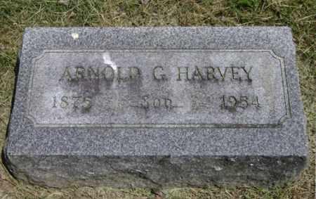 HARVEY, ARNOLD GARDNER - Clark County, Ohio   ARNOLD GARDNER HARVEY - Ohio Gravestone Photos