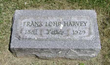 HARVEY, FRANKLIN LOHR - Clark County, Ohio | FRANKLIN LOHR HARVEY - Ohio Gravestone Photos