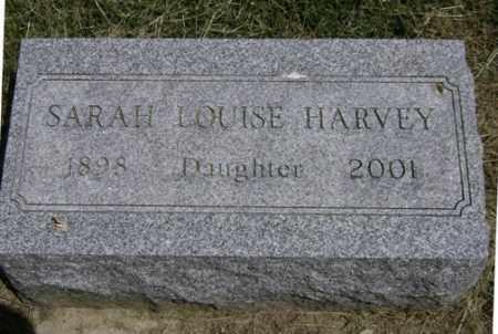 HARVEY, SARAH LOUISE - Clark County, Ohio | SARAH LOUISE HARVEY - Ohio Gravestone Photos