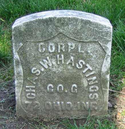 HASTINGS, CHAS. W. - Clark County, Ohio | CHAS. W. HASTINGS - Ohio Gravestone Photos