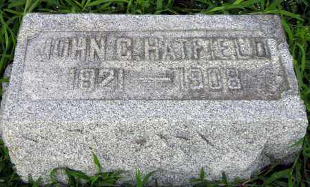HATFIELD, JOHN - Clark County, Ohio | JOHN HATFIELD - Ohio Gravestone Photos