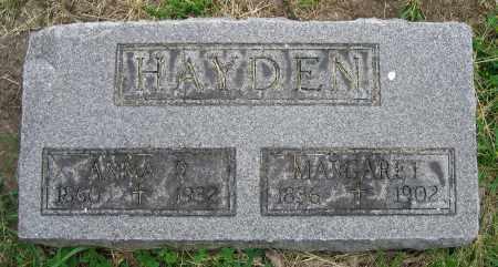 HAYDEN, ANNA R. - Clark County, Ohio | ANNA R. HAYDEN - Ohio Gravestone Photos