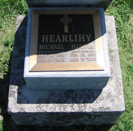 HEARLIHY, MICHAEL - Clark County, Ohio   MICHAEL HEARLIHY - Ohio Gravestone Photos