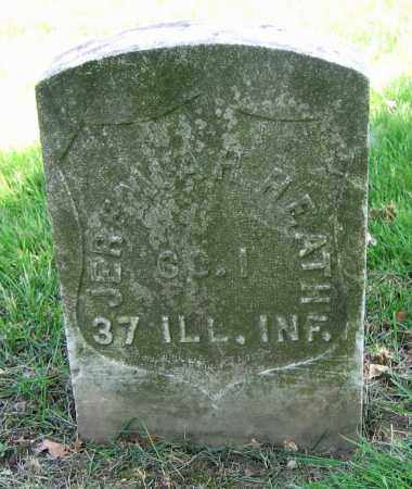 HEATH, JEREMIAH H. - Clark County, Ohio   JEREMIAH H. HEATH - Ohio Gravestone Photos