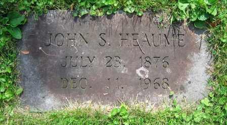 HEAUME, JOHN S. - Clark County, Ohio   JOHN S. HEAUME - Ohio Gravestone Photos