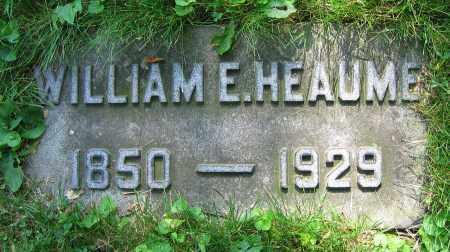 HEAUME, WILLIAM E. - Clark County, Ohio   WILLIAM E. HEAUME - Ohio Gravestone Photos