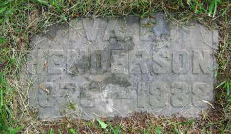 HENDERSON, IVA E. - Clark County, Ohio | IVA E. HENDERSON - Ohio Gravestone Photos