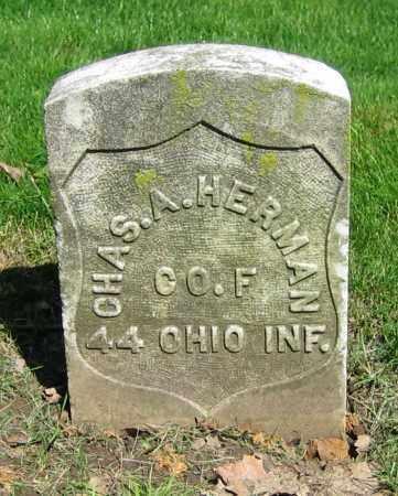 HERMAN, CHAS. A. - Clark County, Ohio | CHAS. A. HERMAN - Ohio Gravestone Photos