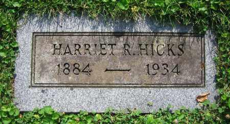 HICKS, HARRIET R. - Clark County, Ohio   HARRIET R. HICKS - Ohio Gravestone Photos