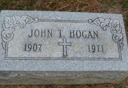 HOGAN, JOHN T. - Clark County, Ohio | JOHN T. HOGAN - Ohio Gravestone Photos