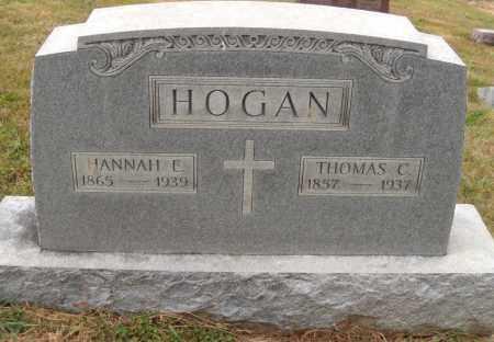HOGAN, THOMAS C. AND HANNAH - Clark County, Ohio | THOMAS C. AND HANNAH HOGAN - Ohio Gravestone Photos