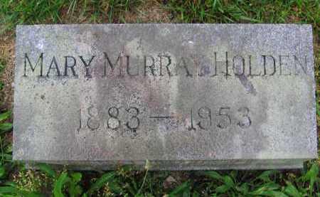 HOLDEN, MARY - Clark County, Ohio | MARY HOLDEN - Ohio Gravestone Photos
