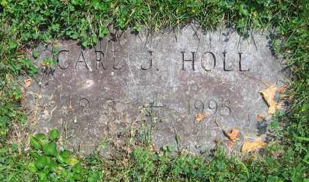 HOLL, CARL J. - Clark County, Ohio   CARL J. HOLL - Ohio Gravestone Photos