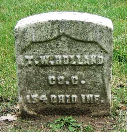 HOLLAND, T.W. - Clark County, Ohio   T.W. HOLLAND - Ohio Gravestone Photos