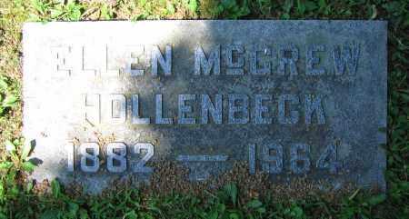 HOLLENBECK, ELLEN - Clark County, Ohio | ELLEN HOLLENBECK - Ohio Gravestone Photos