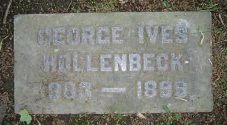 HOLLENBECK, GEORGE IVES - Clark County, Ohio   GEORGE IVES HOLLENBECK - Ohio Gravestone Photos