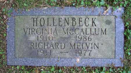 HOLLENBECK, RICHARD MELVIN - Clark County, Ohio | RICHARD MELVIN HOLLENBECK - Ohio Gravestone Photos