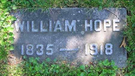HOPE, WILLIAM - Clark County, Ohio | WILLIAM HOPE - Ohio Gravestone Photos