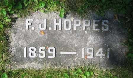HOPPES, F.J. - Clark County, Ohio | F.J. HOPPES - Ohio Gravestone Photos