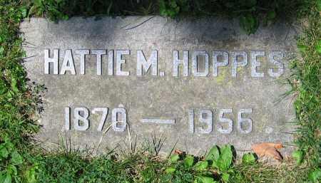 HOPPES, HATTIE M. - Clark County, Ohio | HATTIE M. HOPPES - Ohio Gravestone Photos