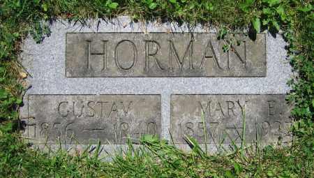 HORMAN, MARY E. - Clark County, Ohio | MARY E. HORMAN - Ohio Gravestone Photos