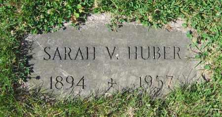HUBER, SARAH V. - Clark County, Ohio | SARAH V. HUBER - Ohio Gravestone Photos