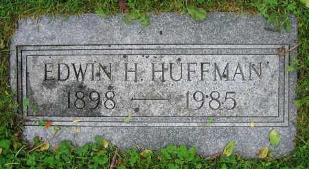 HUFFMAN, EDWIN H. - Clark County, Ohio   EDWIN H. HUFFMAN - Ohio Gravestone Photos