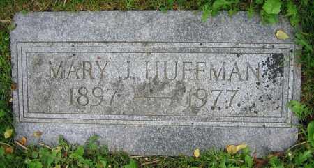 HUFFMAN, MARY J. - Clark County, Ohio   MARY J. HUFFMAN - Ohio Gravestone Photos