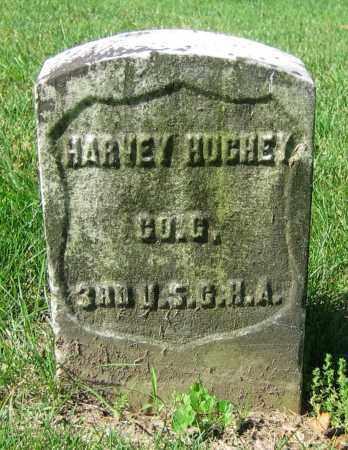 HUGHEY, HARVEY - Clark County, Ohio | HARVEY HUGHEY - Ohio Gravestone Photos