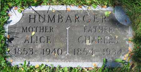 HUMBARGER, ALICE - Clark County, Ohio | ALICE HUMBARGER - Ohio Gravestone Photos