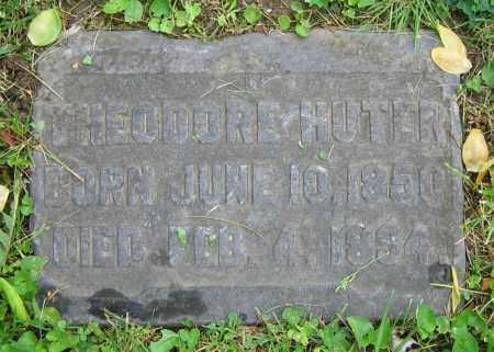 HUTER, THEODORE - Clark County, Ohio   THEODORE HUTER - Ohio Gravestone Photos