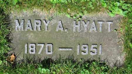 HYATT, MARY A. - Clark County, Ohio | MARY A. HYATT - Ohio Gravestone Photos