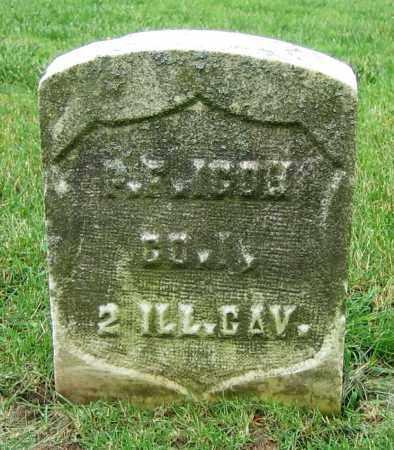 ICOH, P.F. - Clark County, Ohio | P.F. ICOH - Ohio Gravestone Photos