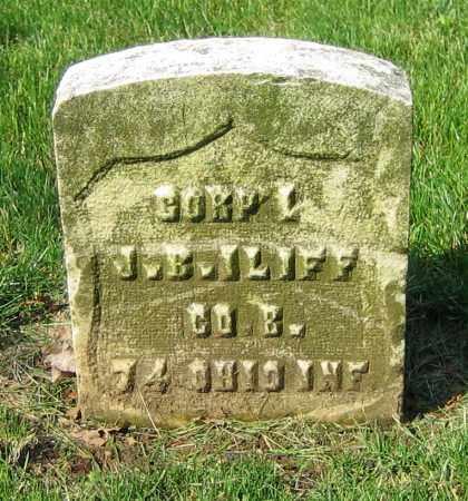 ILIFF, J.B. - Clark County, Ohio | J.B. ILIFF - Ohio Gravestone Photos