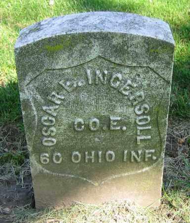 INGERSOLL, OSCAR E. - Clark County, Ohio   OSCAR E. INGERSOLL - Ohio Gravestone Photos
