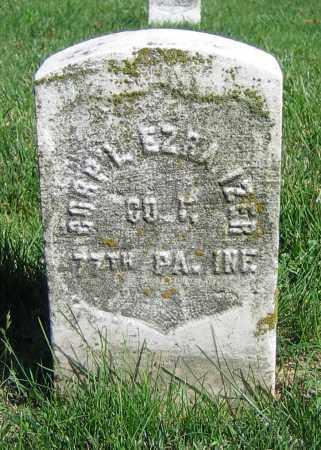 IZER, EZRA - Clark County, Ohio | EZRA IZER - Ohio Gravestone Photos