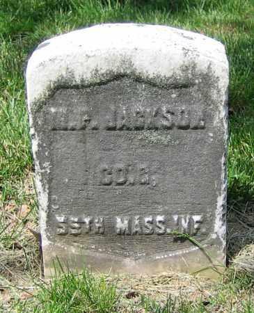 JACKSON, M.P. - Clark County, Ohio | M.P. JACKSON - Ohio Gravestone Photos