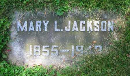 JACKSON, MARY L. - Clark County, Ohio   MARY L. JACKSON - Ohio Gravestone Photos
