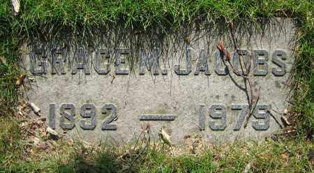 JACOBS, GRACE M. - Clark County, Ohio | GRACE M. JACOBS - Ohio Gravestone Photos