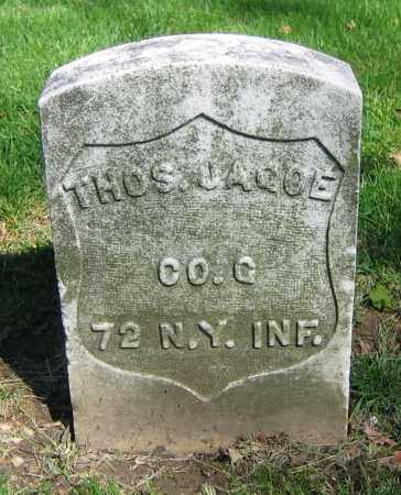 JAGOE, THOS. - Clark County, Ohio | THOS. JAGOE - Ohio Gravestone Photos