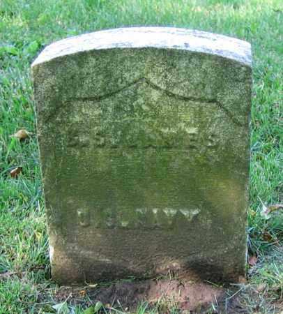 JAMES, B.S. - Clark County, Ohio | B.S. JAMES - Ohio Gravestone Photos