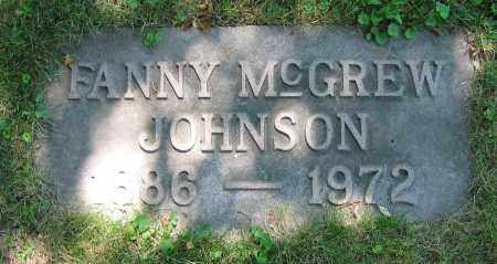 JOHNSON, FANNY - Clark County, Ohio | FANNY JOHNSON - Ohio Gravestone Photos