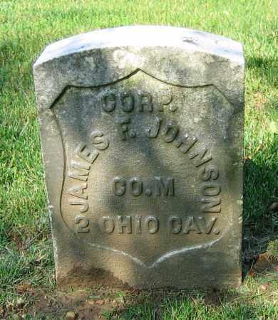 JOHNSON, JAMES F. - Clark County, Ohio | JAMES F. JOHNSON - Ohio Gravestone Photos