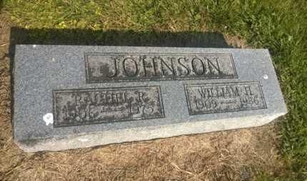 JOHNSON, RACHEL R. - Clark County, Ohio | RACHEL R. JOHNSON - Ohio Gravestone Photos