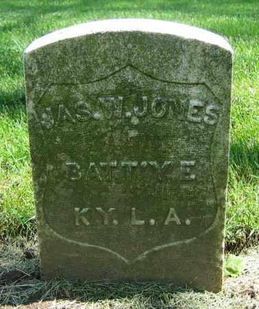 JONES, JAS. W. - Clark County, Ohio | JAS. W. JONES - Ohio Gravestone Photos