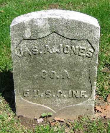 JONES, JAS. A. - Clark County, Ohio | JAS. A. JONES - Ohio Gravestone Photos