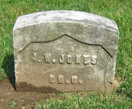 JONES, J.W. - Clark County, Ohio | J.W. JONES - Ohio Gravestone Photos