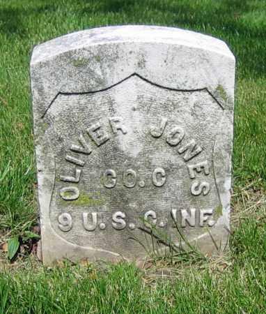 JONES, OLIVER - Clark County, Ohio | OLIVER JONES - Ohio Gravestone Photos